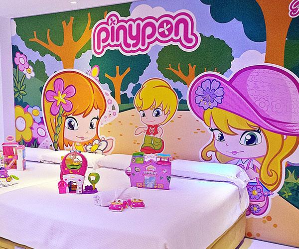 Habitación PinyPon Hotel Juguete Ibi Alicante