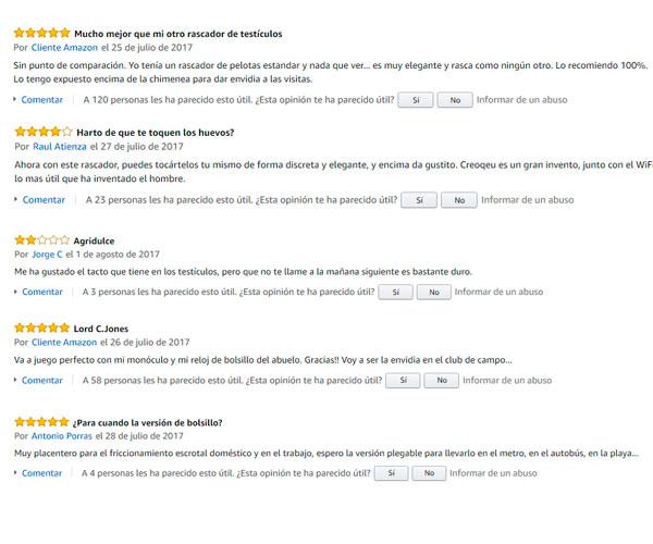 Comentarios Amazon Rascador Elegante Huevos