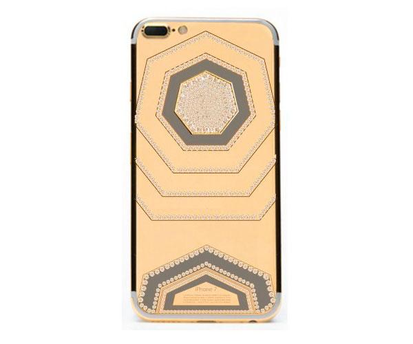 iPhone 7 Oro & Diamantes