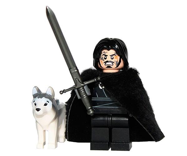 Lego Jon Nieve - Juego de Tronos