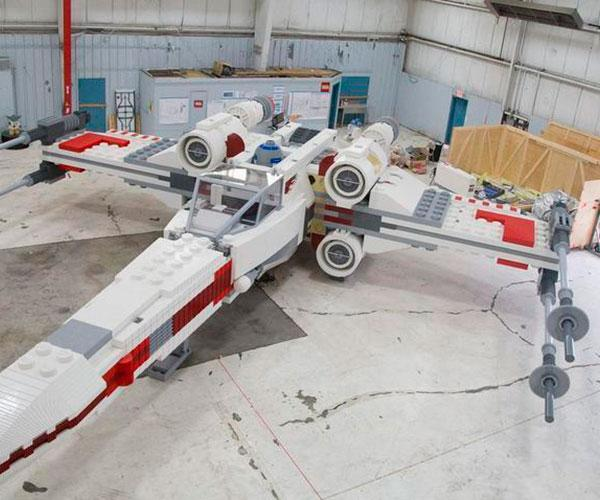 Lego X-Wing Escala Real