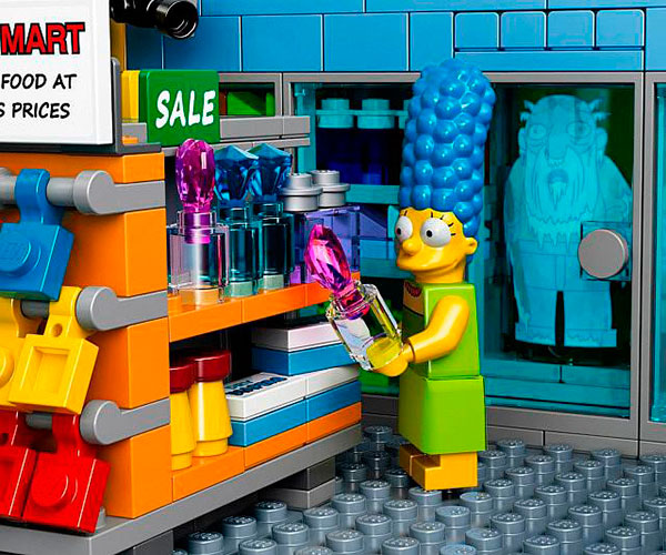 Marge Simpson Lego Badulaque