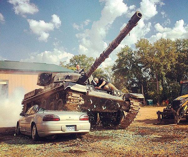 Pilotar un Tanque