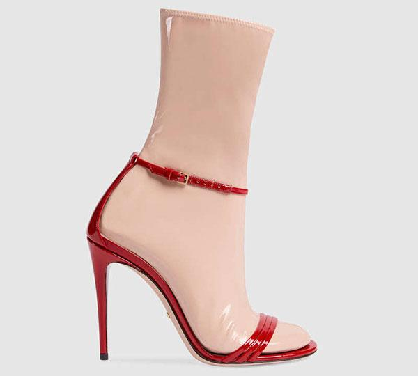 Calcetines Sandalias Gucci